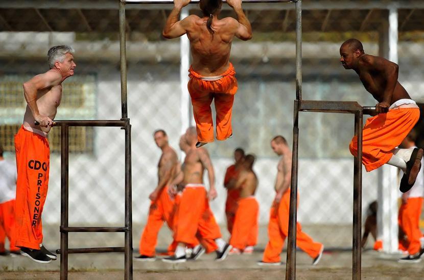 Секс в америанской тюрьме