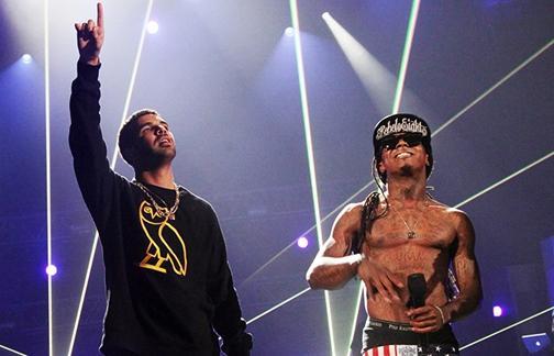 WTF дня: Lil Wayne рассказал, как девушка изменила ему с Drake E18d001